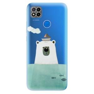 Odolné silikonové pouzdro iSaprio - Bear With Boat na mobil Xiaomi Redmi 9C