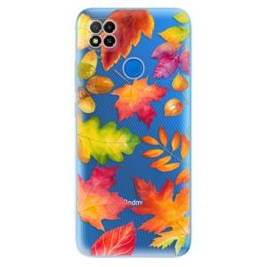 Odolné silikonové pouzdro iSaprio - Autumn Leaves 01 na mobil Xiaomi Redmi 9C