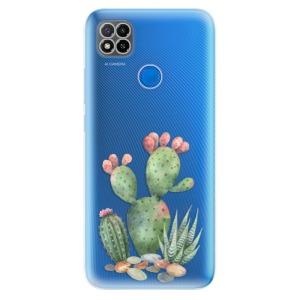 Odolné silikonové pouzdro iSaprio - Cacti 01 na mobil Xiaomi Redmi 9C