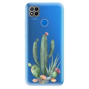Odolné silikonové pouzdro iSaprio - Cacti 02 na mobil Xiaomi Redmi 9C
