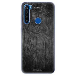 Odolné silikonové pouzdro iSaprio - Black Wood 13 na mobil Xiaomi Redmi Note 8T