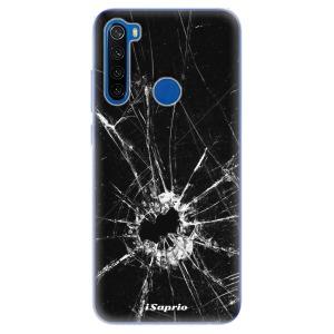 Odolné silikonové pouzdro iSaprio - Broken Glass 10 na mobil Xiaomi Redmi Note 8T