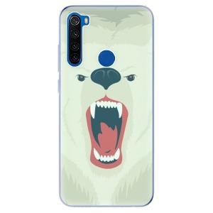Odolné silikonové pouzdro iSaprio - Angry Bear na mobil Xiaomi Redmi Note 8T