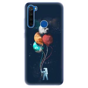 Odolné silikonové pouzdro iSaprio - Balloons 02 na mobil Xiaomi Redmi Note 8T