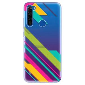 Odolné silikonové pouzdro iSaprio - Color Stripes 03 na mobil Xiaomi Redmi Note 8T