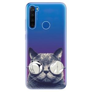 Odolné silikonové pouzdro iSaprio - Crazy Cat 01 na mobil Xiaomi Redmi Note 8T