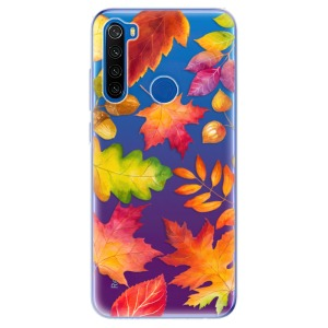 Odolné silikonové pouzdro iSaprio - Autumn Leaves 01 na mobil Xiaomi Redmi Note 8T