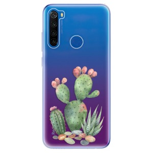 Odolné silikonové pouzdro iSaprio - Cacti 01 na mobil Xiaomi Redmi Note 8T