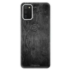 Odolné silikonové pouzdro iSaprio - Black Wood 13 na mobil Samsung Galaxy A02s