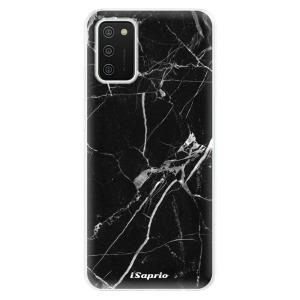 Odolné silikonové pouzdro iSaprio - Black Marble 18 na mobil Samsung Galaxy A02s