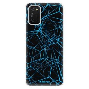 Odolné silikonové pouzdro iSaprio - Abstract Outlines 12 na mobil Samsung Galaxy A02s