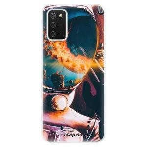 Odolné silikonové pouzdro iSaprio - Astronaut 01 na mobil Samsung Galaxy A02s