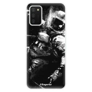 Odolné silikonové pouzdro iSaprio - Astronaut 02 na mobil Samsung Galaxy A02s
