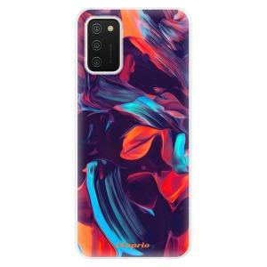 Odolné silikonové pouzdro iSaprio - Color Marble 19 na mobil Samsung Galaxy A02s