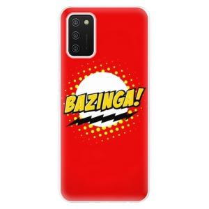 Odolné silikonové pouzdro iSaprio - Bazinga 01 na mobil Samsung Galaxy A02s