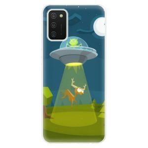 Odolné silikonové pouzdro iSaprio - Alien 01 na mobil Samsung Galaxy A02s