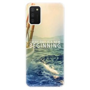 Odolné silikonové pouzdro iSaprio - Beginning na mobil Samsung Galaxy A02s