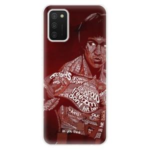 Odolné silikonové pouzdro iSaprio - Bruce Lee na mobil Samsung Galaxy A02s