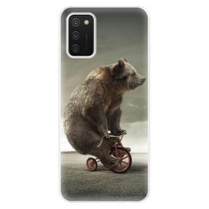 Odolné silikonové pouzdro iSaprio - Bear 01 na mobil Samsung Galaxy A02s