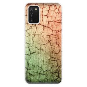 Odolné silikonové pouzdro iSaprio - Cracked Wall 01 na mobil Samsung Galaxy A02s
