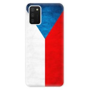 Odolné silikonové pouzdro iSaprio - Czech Flag na mobil Samsung Galaxy A02s