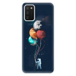 Odolné silikonové pouzdro iSaprio - Balloons 02 na mobil Samsung Galaxy A02s