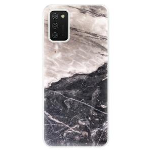 Odolné silikonové pouzdro iSaprio - BW Marble na mobil Samsung Galaxy A02s