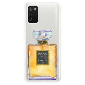 Odolné silikonové pouzdro iSaprio - Chanel Gold na mobil Samsung Galaxy A02s