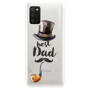 Odolné silikonové pouzdro iSaprio - Best Dad na mobil Samsung Galaxy A02s