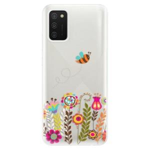 Odolné silikonové pouzdro iSaprio - Bee 01 na mobil Samsung Galaxy A02s