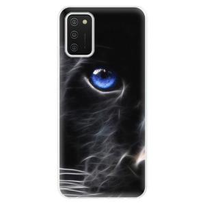 Odolné silikonové pouzdro iSaprio - Black Puma na mobil Samsung Galaxy A02s