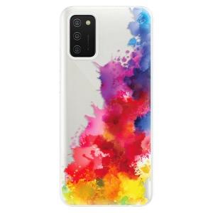 Odolné silikonové pouzdro iSaprio - Color Splash 01 na mobil Samsung Galaxy A02s