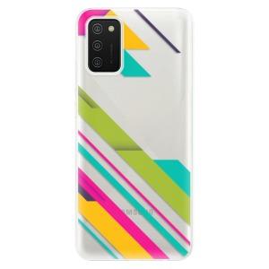 Odolné silikonové pouzdro iSaprio - Color Stripes 03 na mobil Samsung Galaxy A02s
