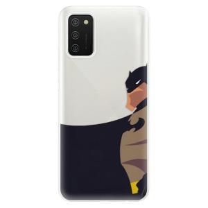 Odolné silikonové pouzdro iSaprio - BaT Comics na mobil Samsung Galaxy A02s