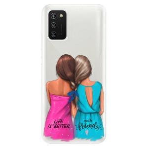 Odolné silikonové pouzdro iSaprio - Best Friends na mobil Samsung Galaxy A02s
