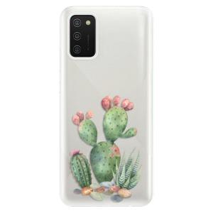 Odolné silikonové pouzdro iSaprio - Cacti 01 na mobil Samsung Galaxy A02s