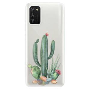 Odolné silikonové pouzdro iSaprio - Cacti 02 na mobil Samsung Galaxy A02s