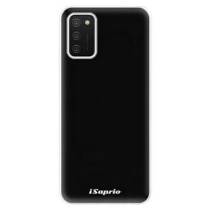 Odolné silikonové pouzdro iSaprio - 4Pure - černé na mobil Samsung Galaxy A02s