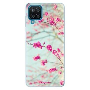 Odolné silikonové pouzdro iSaprio - Blossom 01 na mobil Samsung Galaxy A12