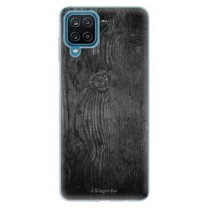 Odolné silikonové pouzdro iSaprio - Black Wood 13 na mobil Samsung Galaxy A12