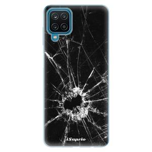 Odolné silikonové pouzdro iSaprio - Broken Glass 10 na mobil Samsung Galaxy A12