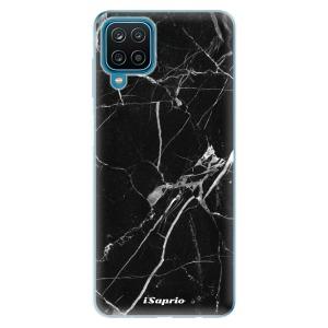 Odolné silikonové pouzdro iSaprio - Black Marble 18 na mobil Samsung Galaxy A12