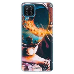 Odolné silikonové pouzdro iSaprio - Astronaut 01 na mobil Samsung Galaxy A12