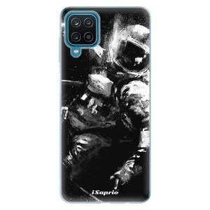 Odolné silikonové pouzdro iSaprio - Astronaut 02 na mobil Samsung Galaxy A12