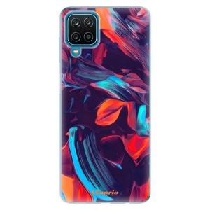 Odolné silikonové pouzdro iSaprio - Color Marble 19 na mobil Samsung Galaxy A12