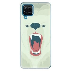Odolné silikonové pouzdro iSaprio - Angry Bear na mobil Samsung Galaxy A12