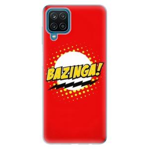 Odolné silikonové pouzdro iSaprio - Bazinga 01 na mobil Samsung Galaxy A12