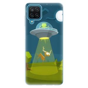 Odolné silikonové pouzdro iSaprio - Alien 01 na mobil Samsung Galaxy A12