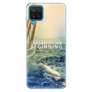 Odolné silikonové pouzdro iSaprio - Beginning na mobil Samsung Galaxy A12