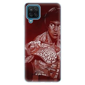 Odolné silikonové pouzdro iSaprio - Bruce Lee na mobil Samsung Galaxy A12